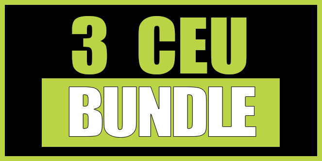 3 CEU Bundle