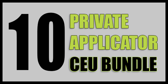 Private Applicator 10 CEU Course| OnlinePestControlCourses.com