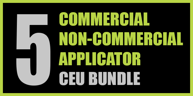 Texas Commercial/Non-commercial Applicator 5 CEU